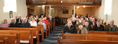 such a happy congregation at Rossnakill